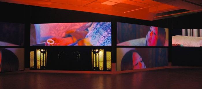 Brie Tenery: Total Field Screen Installation at AEAF