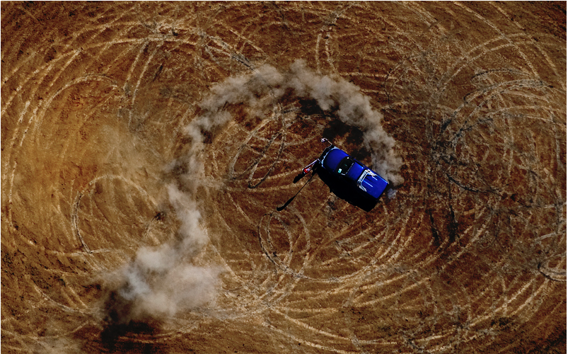 'Circle Work' from Nick McGrath's Series 'Deni Ute Muster'