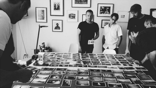 Image by Ying Ang (Instagram) of her time at a photobook masterclass