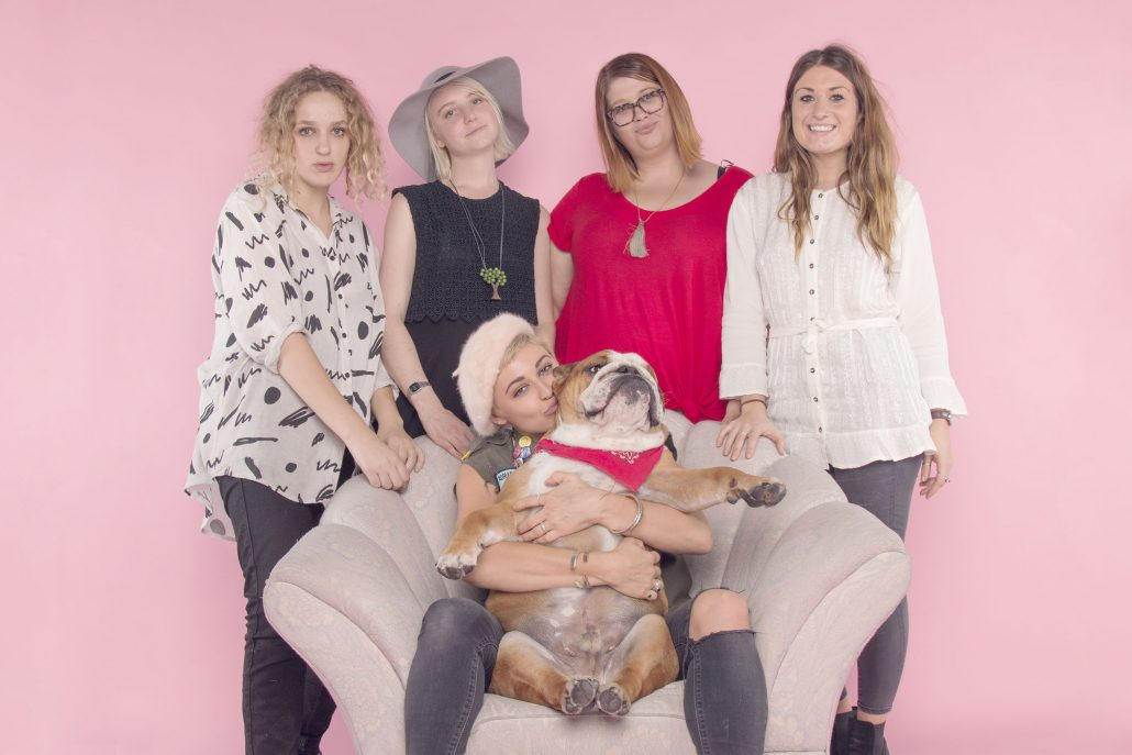 Sophie with her team at The Photo Studio, Fitzroy