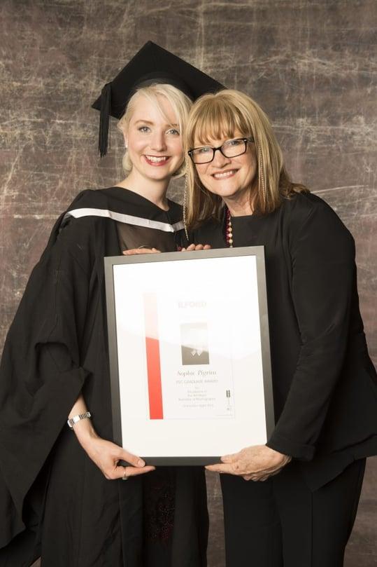 Sophie Pigram with Julie Moss
