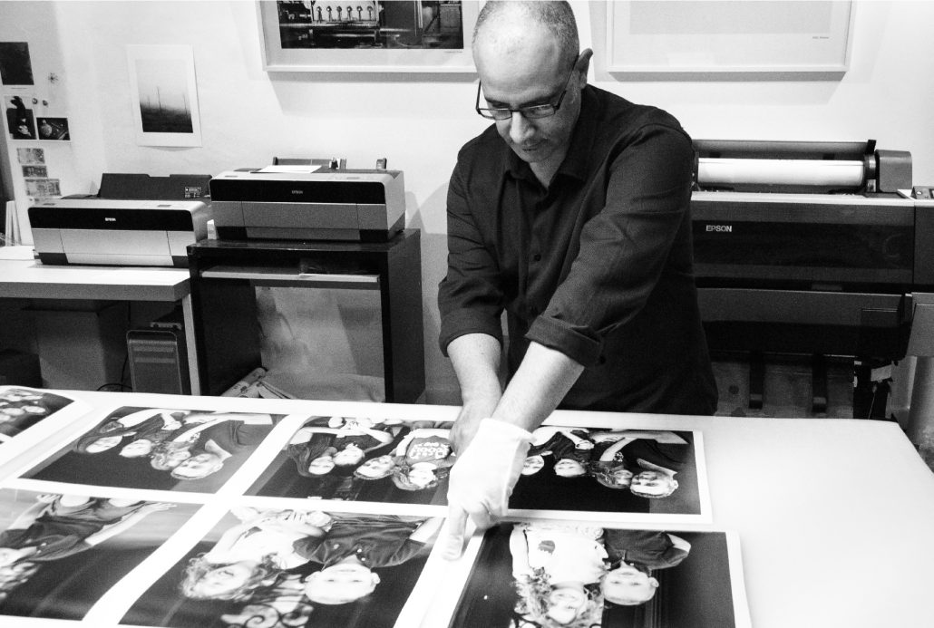 Image of Peter Hatzipavlis at work, by Vicki Bell