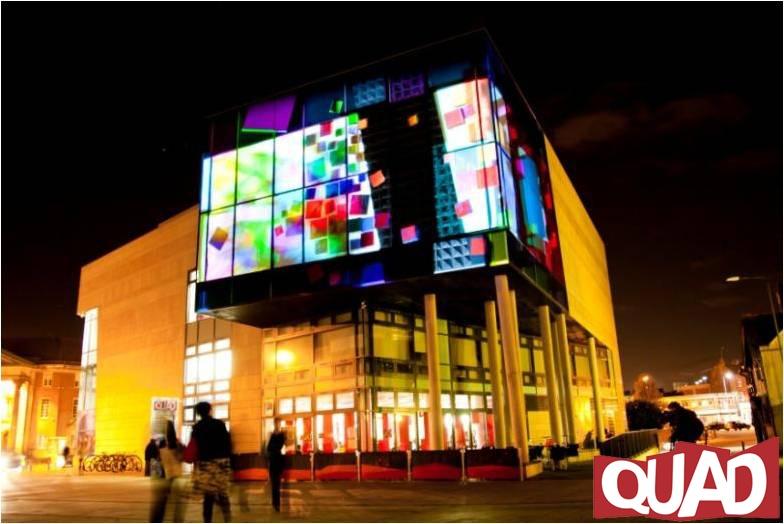 Headquarters of QUAD, Derby (UK)