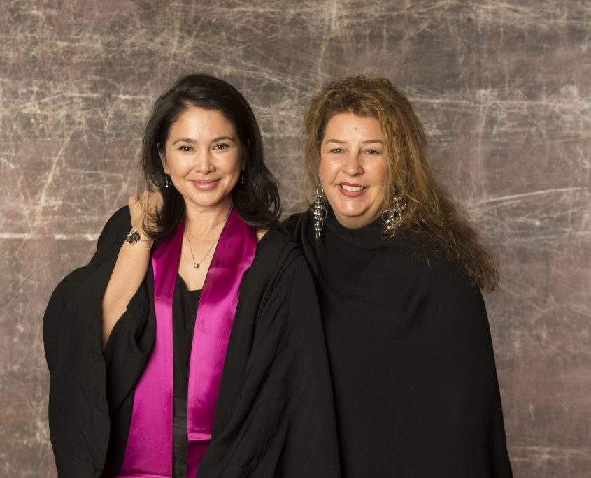 Marisa Ho and Sally Brownbill