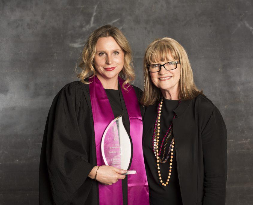 Sarah Maslan with Julie Moss
